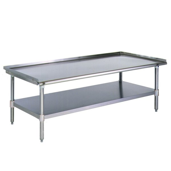"Eagle Group T3072SGS 30"" x 72"" Stainless Steel Griddle / Equipment Stand with Undershelf"