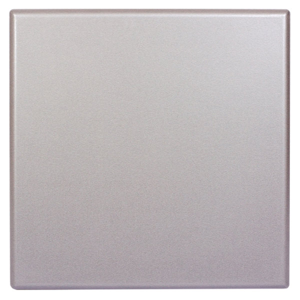 """BFM Seating SM3232 SoHo 32"""" Square Outdoor / Indoor Tabletop - Silver Mist"""