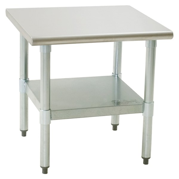 """Eagle Group MS3636S 36"""" x 36"""" Mixer Stand with Stainless Steel Undershelf"""