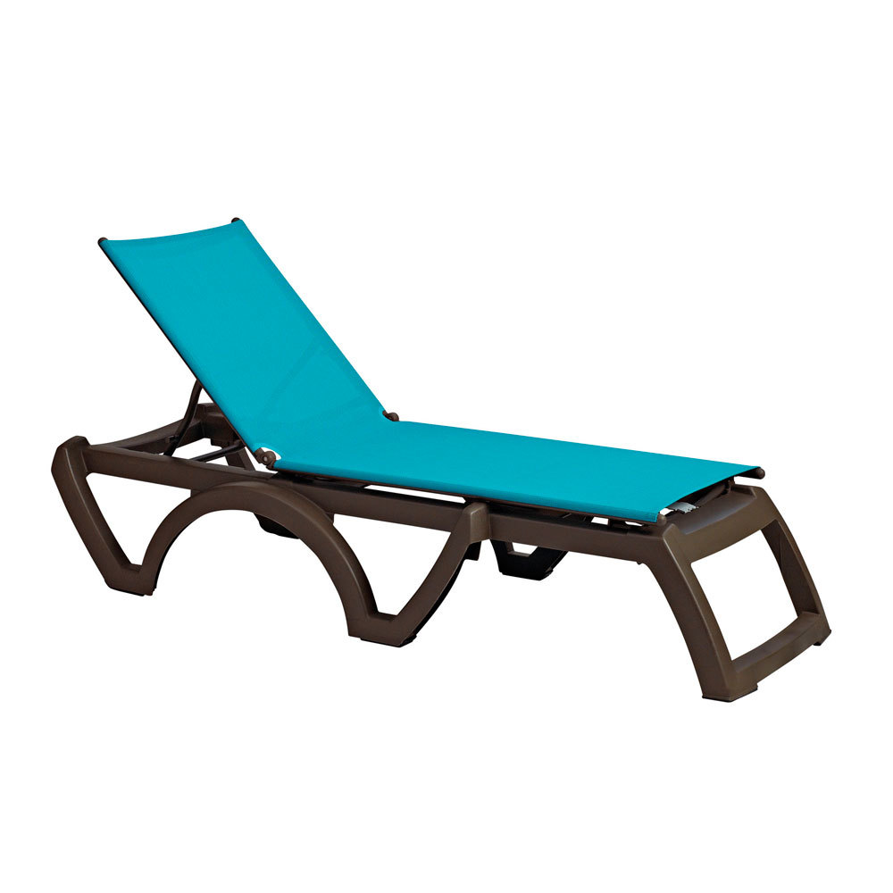Grosfillex us337241 us373241 calypso bronze mist for Chaise longue grosfillex