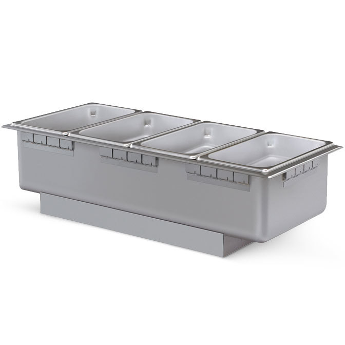 Hatco HWBL-43 4/3 Size Rectangular Uninsulated Drop In Hot Food Well - 750W