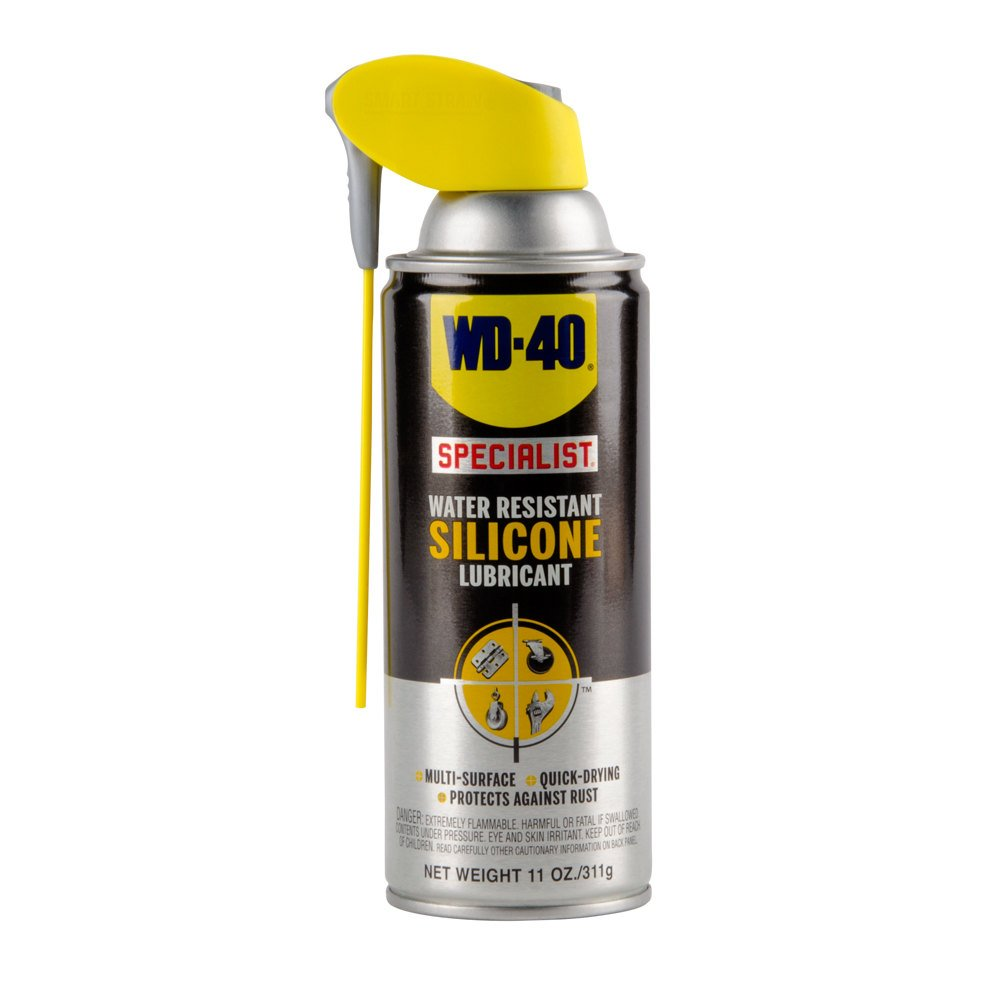 wd 40 specialist 11 oz water resistant silicone lubricant. Black Bedroom Furniture Sets. Home Design Ideas