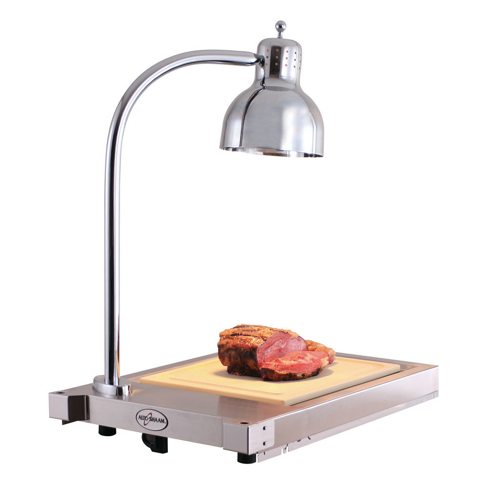 Alto shaam cs heated single lamp carving station v