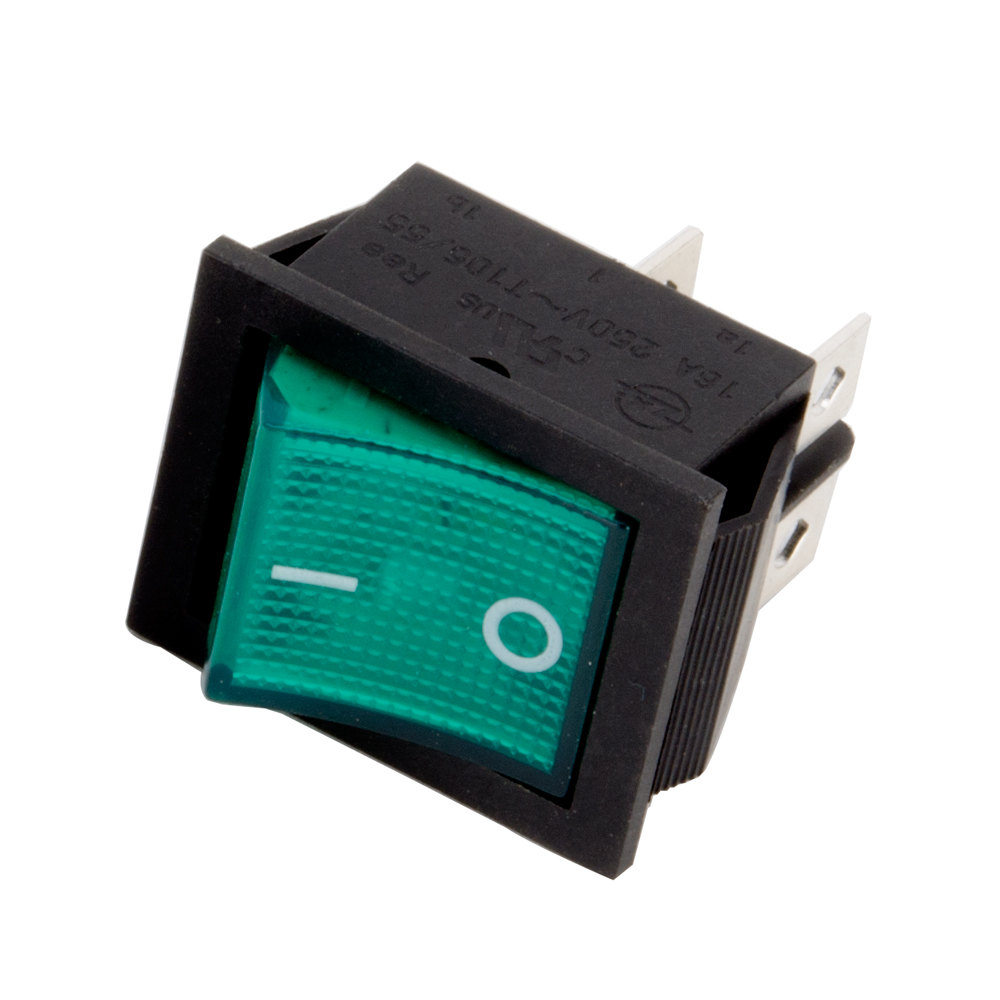 Avantco 17810364 Green Replacement On / Off Switch