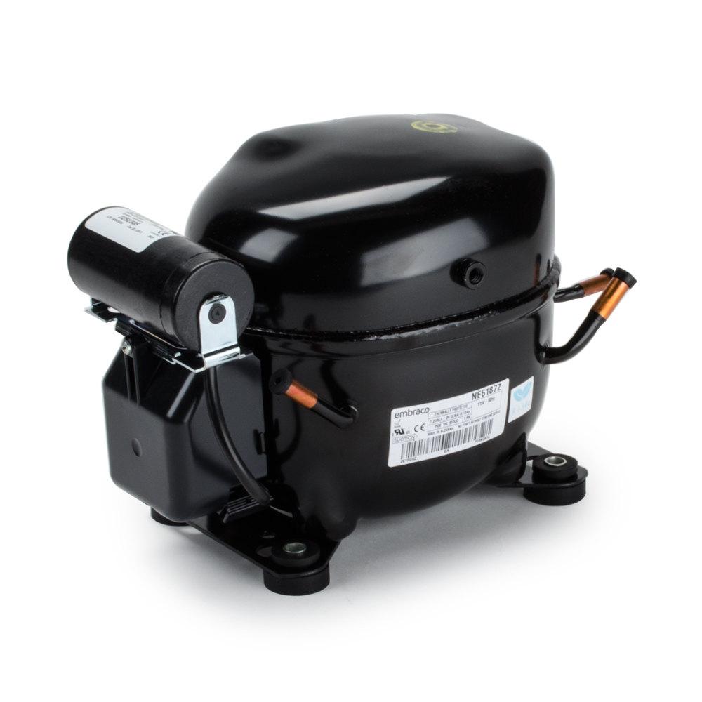 refrigerator compressor. avantco 17810635 1/3 hp compressor - r-134a refrigerator o