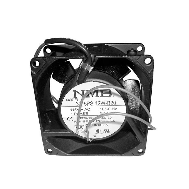 APW Wyott 66971 Equivalent Axial Cooling Fan with Lead Wire - 115V Main Image 1