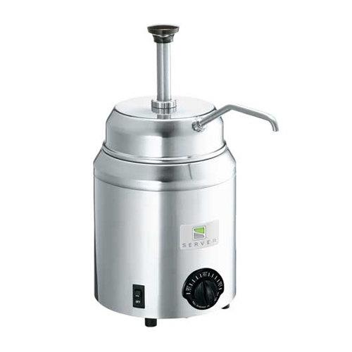 Server 82060 Topping Warmer and Pump Dispenser - 120V, 500W