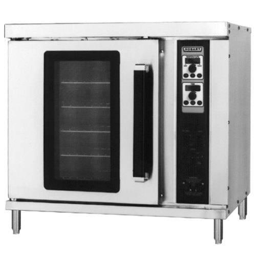 Hobart HEC20 Single Deck Half Size Electric Convection Oven - 208V, 3 Phase, 5500W Main Image 1