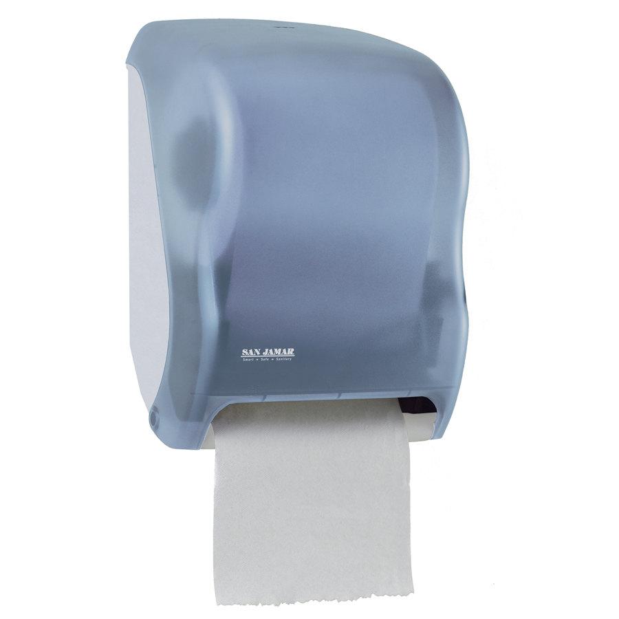T Shirt Rag Dispenser ~ San jamar t tbl tear n dry classic hands free roll