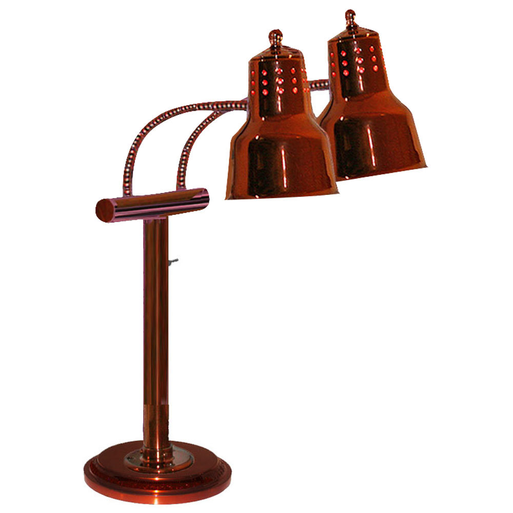 Hanson Heat Lamps Edl Rb9 Sol Sc Dual Bulb Freestanding