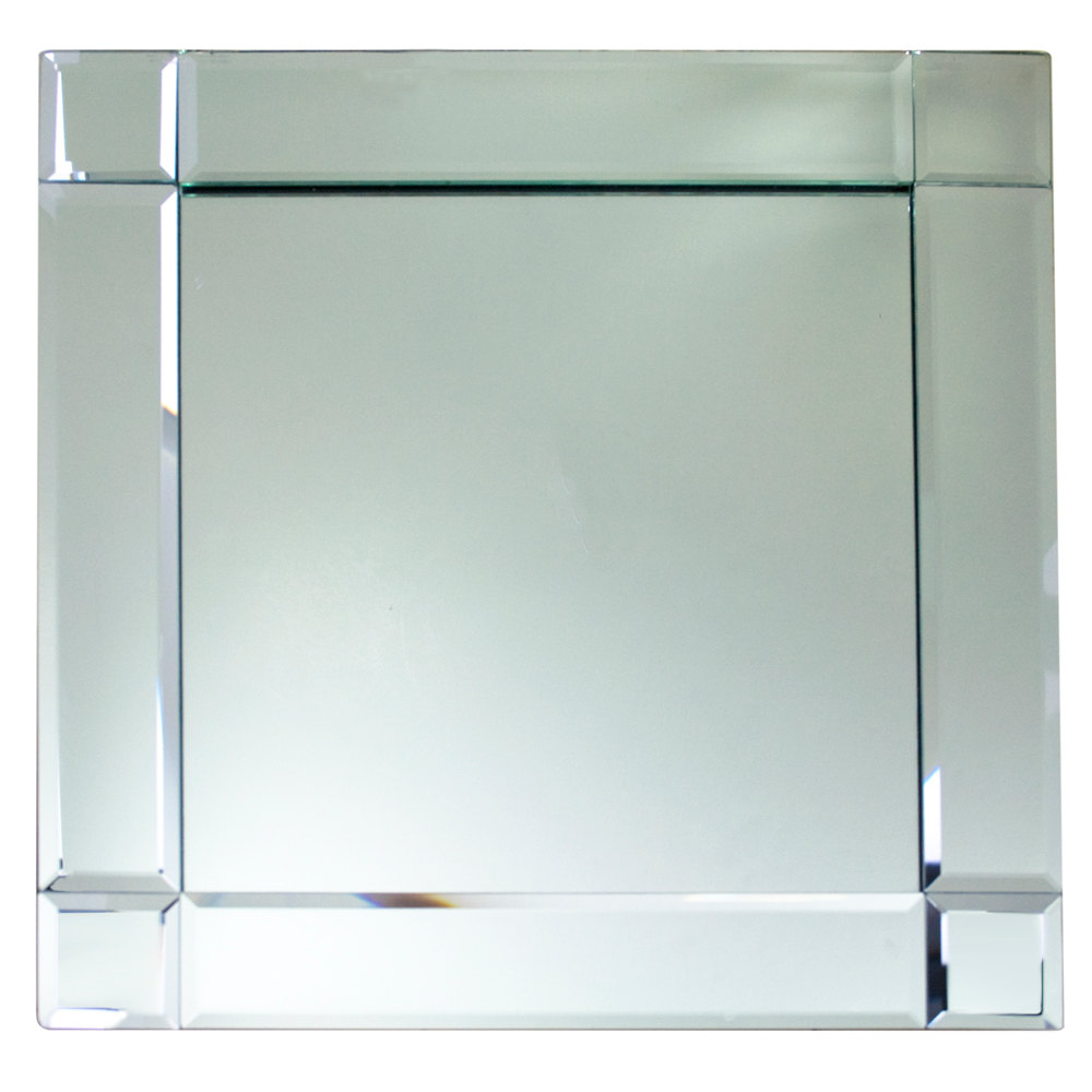 The Jay Companies 1330052 13 Quot X 13 Quot Square Deco Glass