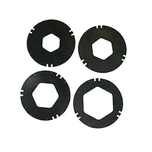 San Jamar XC2426BK Replacement Black Gasket Kit for C2410C Series Cup Dispensers Main Image 1