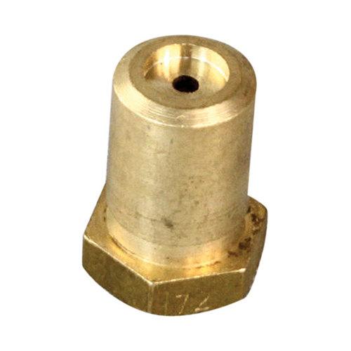 "Southbend 1006447 Equivalent Burner Orifice; #47; Natural Gas; 3/8""-27 Thread; 1/2"" Main Image 1"