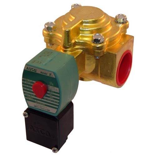 "Asco JSF8220G9 Equivalent Water / Steam Solenoid Valve; 1 1/4"" FPT; 120V Main Image 1"