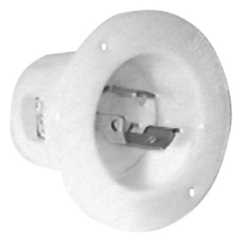 All Points 38-1523 3-Prong Twist and Lock Male Receptacle - 15A/250V