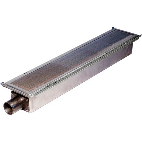 """All Points 26-3871 24"""" x 5 1/8"""" Infrared Burner with Inconel Shield"""