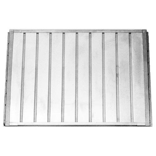 "All Points 26-3142 20"" x 35 1/2"" Center Deflector for Pizza Oven Main Image 1"