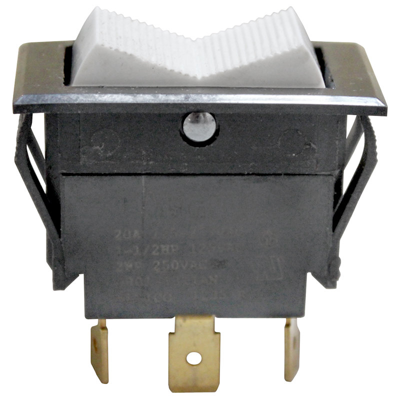 All Points 42-1723 On/Off/On Rocker Switch - 16A/277V Main Image 1