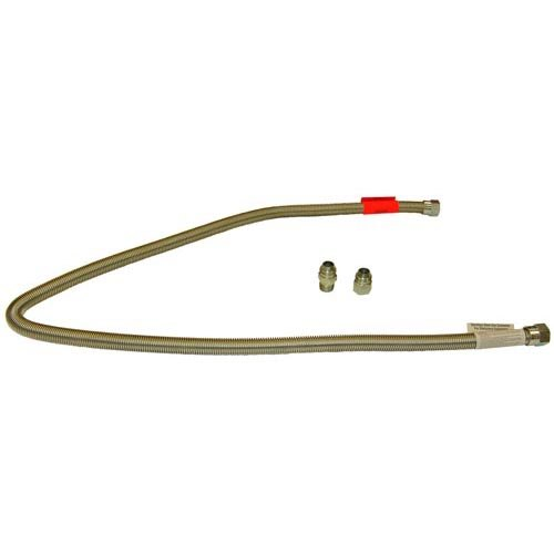 "All Points 32-1793 Stainless Steel Stationary Gas Hose - 72"" x 3/4"" Main Image 1"