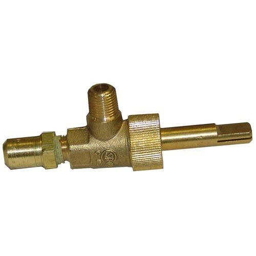"""All Points 52-1163 Top Burner Valve - 1/8"""" Gas In; 3/8""""-27 Gas Out Main Image 1"""