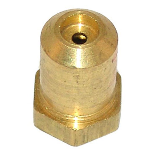 "All Points 26-1104 Brass Hood Orifice; #44; 3/8""-27 Thread; 1/2"" Main Image 1"