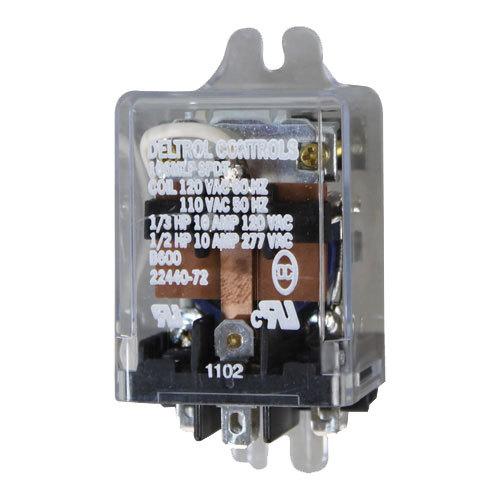 Hatco 02-01-028 Equivalent 1-Pole Warmer Relay; 120V