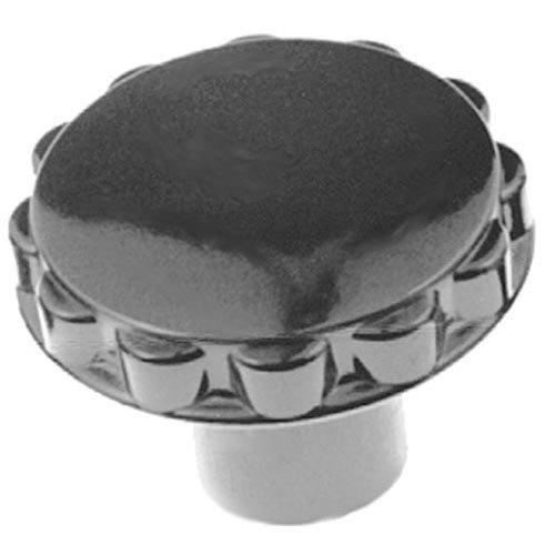 "Hatco 05.30.001.00 Equivalent 1 7/8"" Black Toaster / Coffee Machine Knob"