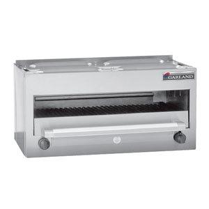 """Garland MSRC Master Series Liquid Propane 34"""" Countertop Infra-Red Salamander Broiler - 28,000 BTU"""