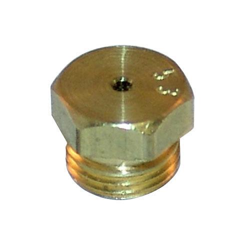 "All Points 26-1632 Brass Burner Orifice; #53; Liquid Propane; 11/32""-32 Thread Main Image 1"
