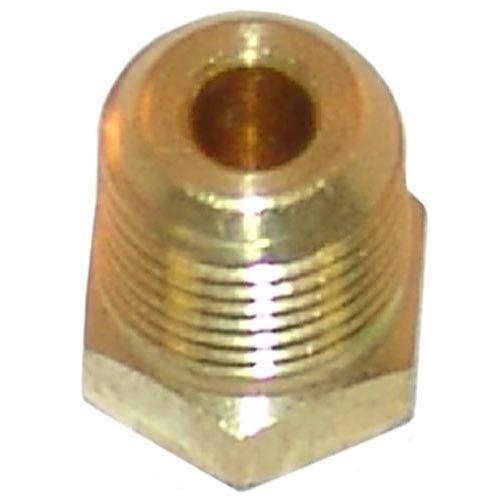 "American Range A23010 Equivalent Brass Hex Head Plug; 1/8"" MPT Main Image 1"