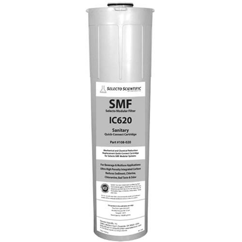 """All Points 76-1180 5 7/8"""" x 23"""" Water Filtration Cartridge - 5 GPM, 0.5 Micron Main Image 1"""