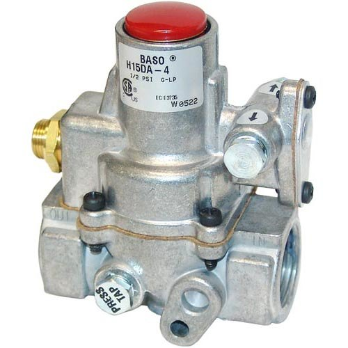 "Baso H15DA-4D Equivalent Pilot Safety Valve; Natural Gas / Liquid Propane; 3/4"" Gas In/Out; 1/8"" Pilot Out"