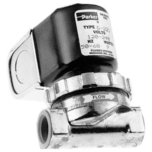 """All Points 58-1018 Water Solenoid Valve; 1/2""""; 120/240V Main Image 1"""