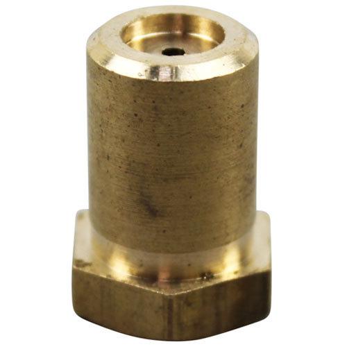 "Jade Range 460-217-000 Equivalent Brass Hood Orifice; #53; Liquid Propane; 3/8""-27 Thread; 1/2"""