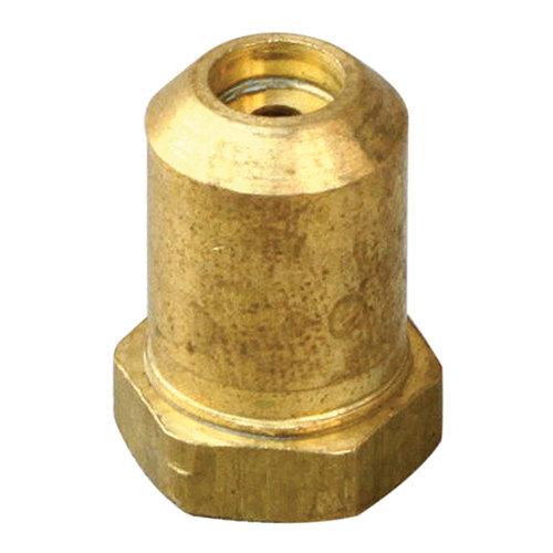 "Garland / US Range 223242-42 Equivalent Brass Hood Orifice; #42; 3/8""-27 Thread; 1/2"""