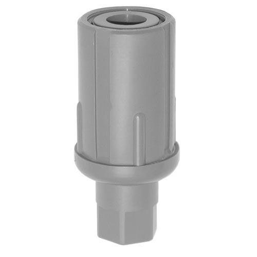 "Kason 61645000257 3 1/2"" Plastic Bullet Foot for 1 5/8"" OD Tubing"