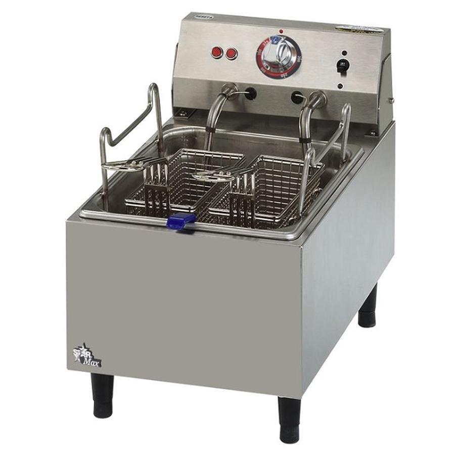 Countertop Deep Fryer : ... Fryer Star Max 510FF-CSA 10 Pound Commercial Countertop Deep Fryer