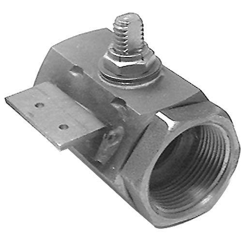 "Frymaster 823-1168 Equivalent Fryer Drain Valve; No Handle - 1 1/4"" FPT"