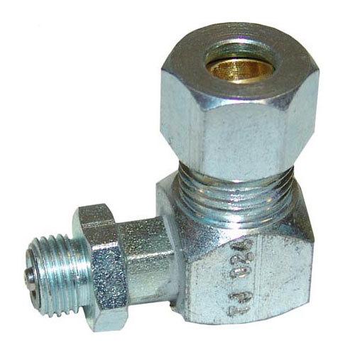 "Garland / US Range 8100148 Equivalent Pilot Orifice Elbow; #0.010; Liquid Propane; 5/16""-32 Thread; Tube Size (CCT): 1/4"""