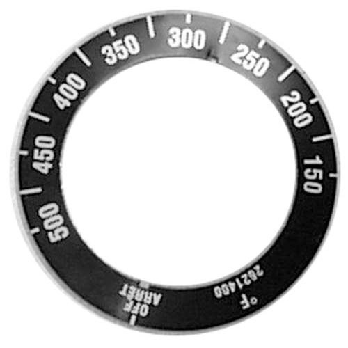 All Points 22-1533 Black Grill Dial Overlay (Off, 150-500)