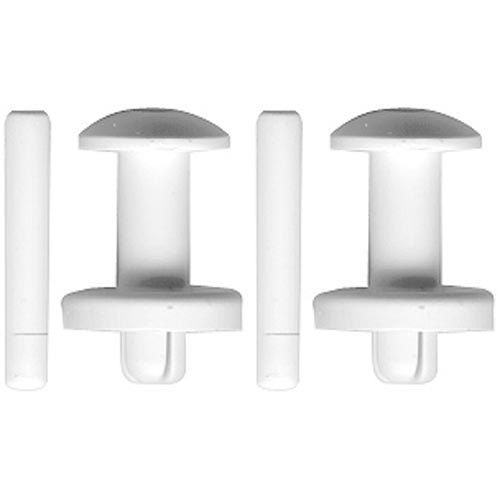 Manitowoc Ice 56-5045-9 Equivalent Water Curtain Hanger - 2/Pack Main Image 1
