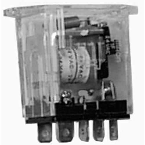 All Points 44-1423 Fryer / Rethermalizer Relay; 24V; AC; SPDT Main Image 1