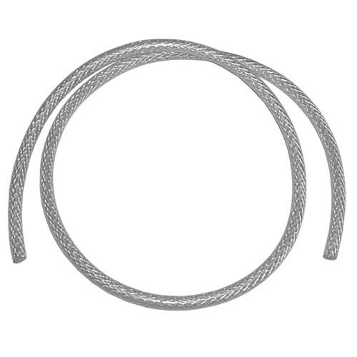 """All Points 32-1369 Braided Reinforced Silicone Tubing; 1/4"""" ID x 1/2"""" OD"""