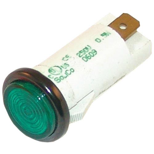 "Hatco 02.19.150  Equivalent Signal Light; 1/2""; Green 250V Main Image 1"