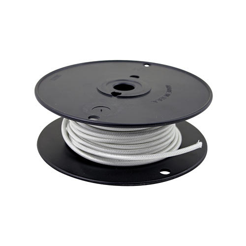All Points 38-1265 High Temperature Wire; #14 Gauge; Stranded SRGN; White; 50' Roll Main Image 1