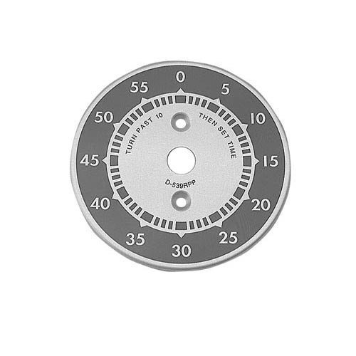 "All Points 22-1110 3"" Steamer Dial Plate (0-55) Main Image 1"