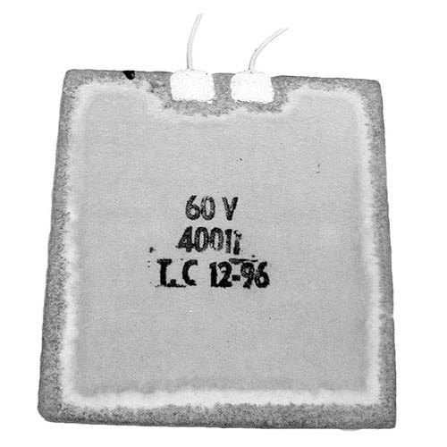 "Wells 60011 Equivalent Toaster Element; 60V; 325W; 5 3/4"" x 5 1/4"""