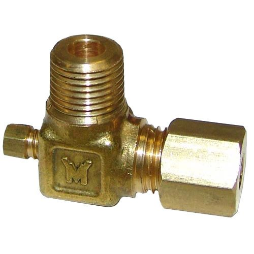 "MagiKitch'n 23A Equivalent Pilot Adjustment Valve; 1/8"" MPT X 3/16"" CCT"