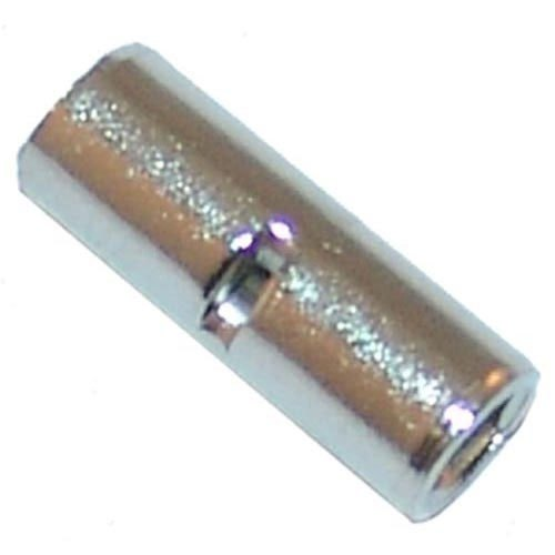 All Points 85-1016 Nickel Plated Butt Connector; Wire Gauge: 10 - 100/Box
