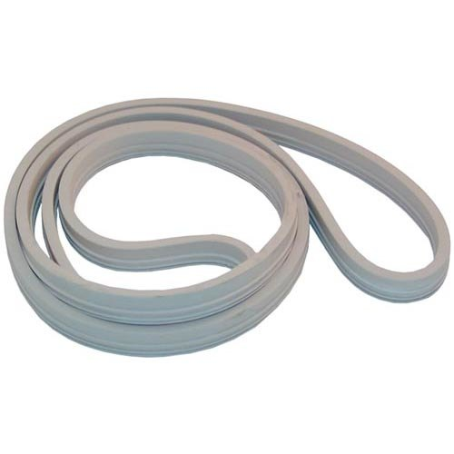 "Cleveland 07112 Equivalent 74 1/2"" Silicone Rubber Door Gasket"
